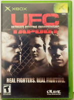 """""""UFC: Tapout"""" 2001 Original XBox Game Complete With Manual NM Disc"""