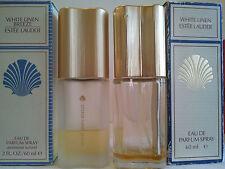 Bulk Lot 2 X Estee Lauder White Linen Used Women's fragrance