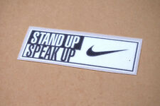 Stand Up Speak Up Soccer Patch / Badge