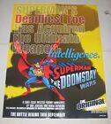 "1998 SUPERMAN: THE DOOMSDAY WARS Dealer Promo Poster 17"" x 22"" DC Comics"