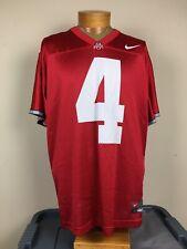 Nike Ohio State Buckeyes #4 Football Jersey Men's Size Large