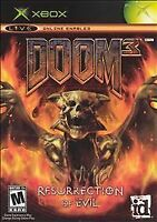 Doom 3: Resurrection of Evil (Microsoft Xbox, 2005)        FAST SHIPPING