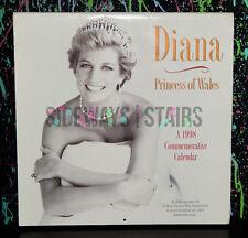 1998 PRINCESS DIANA COLLECTIBLE CALENDAR commemorative tribute nice photos 1997