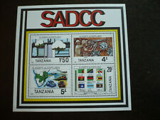 Stamps - Tanzania - Scott# 257a - Souvenir Sheet