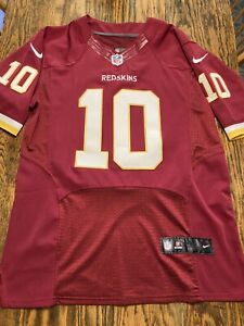 NIKE ELITE ON FIELD ROBERT GRIFFIN III REDSKINS Jersey Size 40 Stitched NWOT!