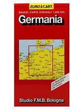 GERMANIA CARTINA STRADALE 1:800.000 [MAPPA/CARTA] STUDIO F.M.B. BOLOGNA