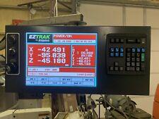 New Bridgeport Ez Trak Console Box With 15 Screen