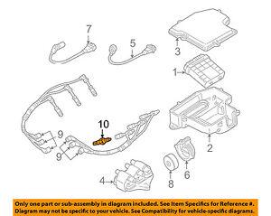 VW VOLKSWAGEN OEM 98-05 Passat 2.8L-V6 Ignition-Spark Plug 101000035HJ