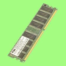 4x BARRETTE MEMOIRE DDR 256MB 333MHz CL25 soit 1GB lot de 4 barrettes RAM