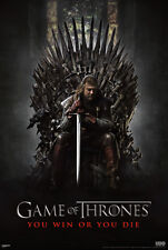 Game of thrones you win or you die poster! 7th Episode Seven Kingdom No Middle