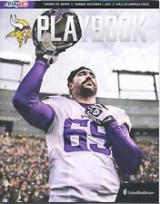 Minnesota Vikings Chicago Bears 12/1/13 Playbook SGA...Jared Allen