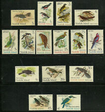Album Treasures Norfolk Is Scott # 126-140 Birds Set MNH