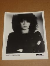 Louise Mandrell 1984 10 x 8 RCA Records Publicity Photo