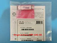Original Cisco SFP-10G-SR 10GBase-SR SFP MMF Transceiver Module