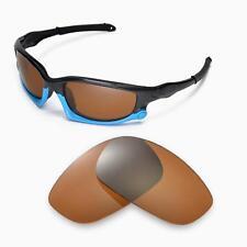 New Walleva Polarized Brown Lenses For Oakley Split Jacket  Sunglasses