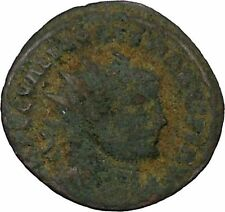 DIOCLETIAN receiving Victory on globe from  JUPITER  Ancient Roman Coin  i45906