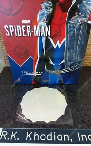 Hot Toys VGM32 Spider Man Punk marvel 1/6 scale action figure's one large web