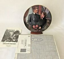 """1993 Gone With The Wind Collector's Plate """"At Cross Purposes"""" NIB Paul Jennis"""