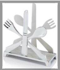 Cubiertos Cutlery Napkin Holder in Silver [ID 3822046]