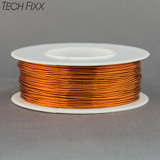 Magnet Wire 24 Gauge Enameled Copper 198 Feet Coil Winding and Crafts 200C