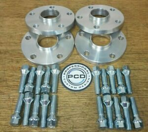 2 PAIR 20mm Renault 5x114.3 Hubcentric Wheel Spacers, 66.1 CB 20x Bolts UK Made