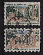 P53* Timbres 1961 n°1316 MEDEA (Variété Sol Vert absent & Normal)