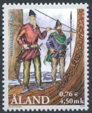 Aland Finland 2000 MNH - Viking Hlövder the Tall - Viking Ship