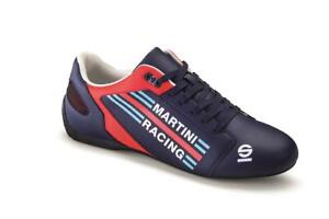 Martini Racing LIMITED EDITION Sparco SL-17 Schuhe Freizeit Low Casual Leder NEU