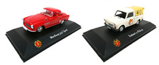 Lot de 2 voitures 1:43 Trabant Pick Up + Wartburg 313/1 ATLAS Model Car DDR21+38