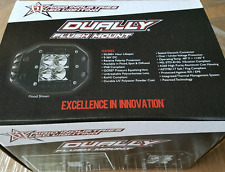 Rigid Industries D-Series Dually LED Flush Mount Flood Light Pair 21211