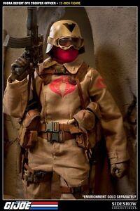 SIDESHOW COLLECTABLES G.I. JOE Desert Cobra Officer Trooper