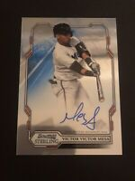 2019 Bowman Sterling VICTOR VICTOR MESA RC Autograph AUTO Marlins