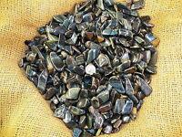 1000 Carat Lots of Polished Tumbled Blue Tiger Eye + FREE Faceted Gemstone