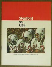 Vintage Stanford vs USC Football Program-10/7/1972-Estate Sale