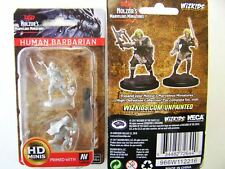 Dungeons & Dragons nolzurs Marvelous COMPONIBILI Miniatures Human Female Barbarian