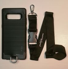 Samsung Galaxy Note 8 Case and Neckstrap Lanyard  Samsung Note 8 by  PODFOB
