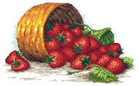 Cross Stitch Kit Strawberry basket art. 55-08