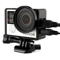 Standard Frame Protective Housing Case + 37mm UV Lens Filter for GoPro Hero 4 3+