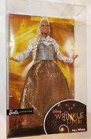 Barbie Wrinkle In Time Mrs Which Doll Disney Oprah Winfrey NRFB African American