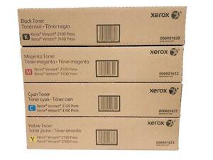 New Genuine Xerox Versant 2100 / 3100 Complete Toner Set