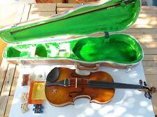 Vtg. E.R.Pfretzschner Violin bow hardshell case 1972 handmade copy of Antonius S
