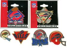 Bills Vintage Pin Choice 4 Pins Some new on card Buffalo NFL AFC
