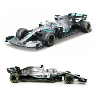 Mercedes AMG Petronas F1 2019 W10 Lewis Hamilton #44 Scale 1:43 Model Toy Car-