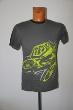 Original tee shirt TROY LEE DESIGNS Zink Tee Gris Taille L neuf