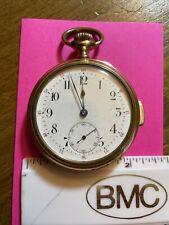 PB Richardson Jewelers Swiss Repeater Pocket Watch Springfield Mass