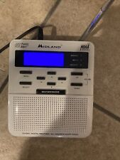 Midland Weather Alert Radio Wr-100 w/plug and owner's manual