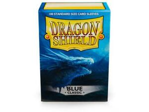Classic Blue 100 ct Dragon Shield Sleeves Standard Size FREE SHIPPING 10% OFF 2+