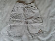BABY BOYS BEIGE LINEN TROUSERS 0-3 MONTHS ABSOLUTELY IMMACULATE HARDLY WORN