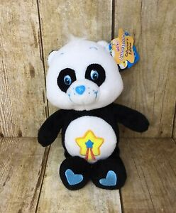 "Care Bear Cousin 2005 Collector's Ed Perfect Panda 8"" Shooting Yellow Star Tags"
