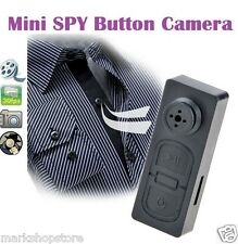 Mini Spy Button HD Video Recorder Hidden Pinhole Camera Camcorder 1280 X 960p